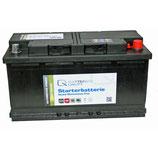Q-Batteries Starterbatterie 600 83 Q100 12V 100Ah 830A (EN), wartungsfrei