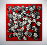 """Gemälde   """"Blumen aus Stahl"""""""