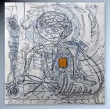 """Gemälde """"Chip-Man 3"""""""