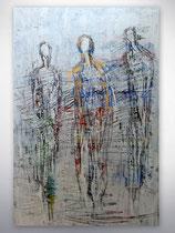"""Gemälde """"men at city"""""""