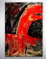 "Gemälde   ""lonely animals"""