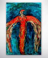 "Gemälde   ""Feuervogel"""