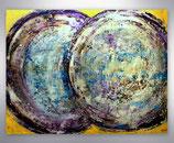 """Gemälde   """"zwei Welten"""""""