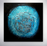 """Gemälde   """"blue planet"""""""