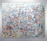 """Gemälde   """"silver drops"""""""
