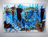 "Gemälde   ""dance in the city"""