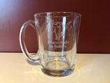 """Mug transparent """"Maison de la Salers"""""""