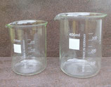 Bechergläser aus Borosilikatglas