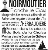 Torchon NOIRMOUTIER