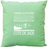 COUSSIN COTE DE JADE 2