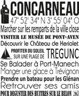 Torchon CONCARNEAU