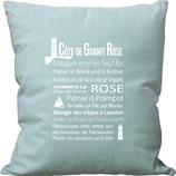 COUSSIN COTE DE GRANIT ROSE
