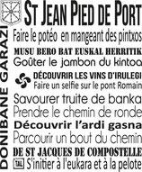Torchon ST JEAN PIED DE PORT