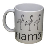 Mug flamants origami