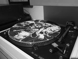 "Slipmat aus Filz, Design ""Vinyl's'Alive"""