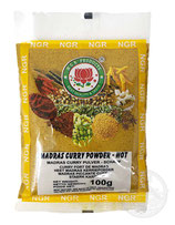 Madras Curry Powder - Hot 100g  マドラス カレーパウダー HOT