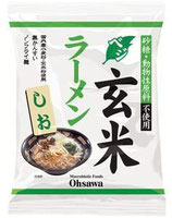 Osawa Japan Vegetarischer Genmai Ramen Shio  ベジタリアン 玄米ラーメン しお