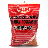 S&B Shichimi Tougarashi 300g ヱスビー七味唐からし