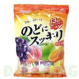 Throat Candy Nodo Ni Sukkiri Fruits mix 118g  のどにスッキリ フルーツアソート