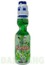 Kimura Ramune Melon Flavor 200ml メロンラムネ