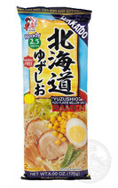 Hokkaido Yuzu Flavor Mellow Salt 2 servings 北海道ゆずしおラーメン