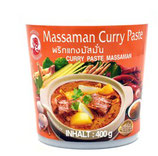 Cock Massaman Curry Paste 400g  マサマンカレーペースト