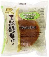 "Long Life ""Hefebroetchen"" HokkaidoCream-geschmack 天然酵母パン 北海道クリーム"