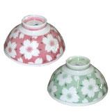 """Rice bowl Mino-Yaki """"Sakura""""  美濃焼 茶碗 さくら"""