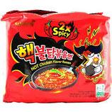 SAMYANG Hot Chicken Flavor Ramen Spicy (140gx5)
