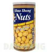 Khao Shong Nuts Sesame Peanut Crackers 180g  ゴマピー