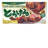 S&B Torokeru Curry Mittelscharf 200g  S&B とろけるカレー 中辛