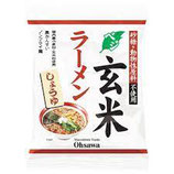 Osawa Japan Vegetarischer Genmai Ramen Shouyu  ベジタリアン 玄米ラーメン しょうゆ