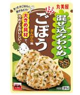 Marumiya Mazekomi Wakame Gobou 31g 丸美屋 混ぜ込みわかめ ごぼう