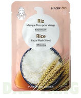 Mask On Facial Mask Sheet - Rice