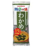 Marukome Miso Soup Wakame 216g (12p) マルコメみそ汁 わかめ 12食