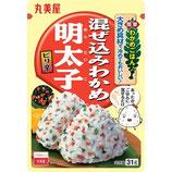 Marumiya Mazekomi Wakame Mentaiko 31g 丸美屋 混ぜ込みわかめ 明太子