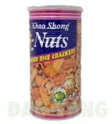 Khao Shong Nuts Mixed Rice Crackers 180g