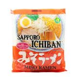 SAPPORO Ichiban Miso ramen  1人前 サッポロ一番みそラーメン