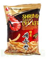 Nongshim Schrimp Cracker 75g (Hot & Spicy) 매운새우깡