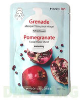 Mask On Facial Mask Sheet - Pomegranate