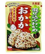 Marumiya Mazekomi Wakame Okaka 31g 丸美屋 混ぜ込みわかめ おかか