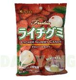 Kasugai Lychee Gummy Candy  ライチグミ