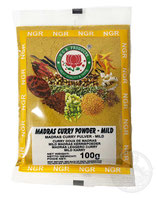 Madras Curry Powder - Mild 100g  マドラス カレーパウダー マイルド