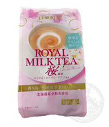 Royal Milk Tea Powder Sakura Flavor 140g (10 Sticks)  ロイヤルミルクティー サクラ風味