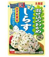 Marumiya Mazekomi Wakame Sirasu 31g 丸美屋 混ぜ込みわかめ しらす