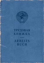 ARBEITSBUCH / Labour book