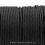 Cordón de Nylon de Escalada Redondo 3mm negro (3 metros)