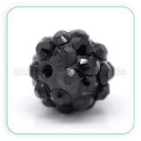 Abalorio Rhinestone R2 - 009 Negro (5 abalorios)