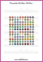 60 Imágenes Ornamentos Art Decó I 10x10