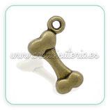 Charm hueso bronce viejo CHAOOO-C13235 (10 unidades)